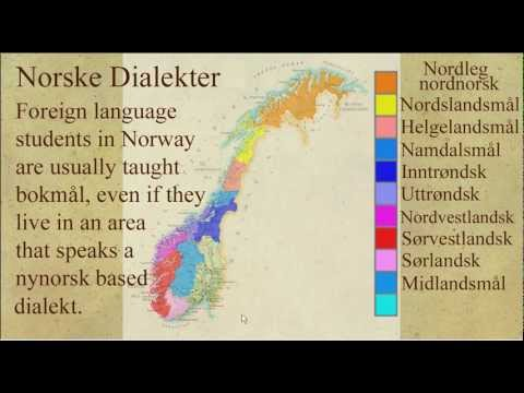 Norwegian Dialects Explained / Norske Dialekter