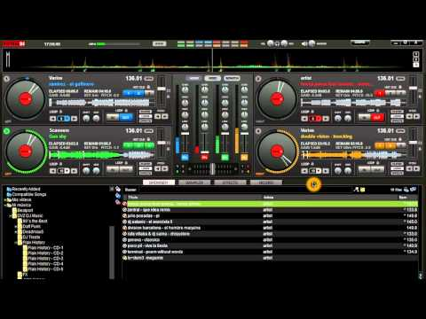 Virtual DJ 4 Platos Video Tutorial Sesion 1
