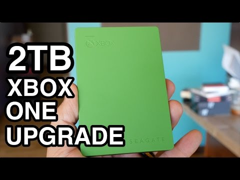 How To Add 2TB to Your Xbox One with Seagate Game Drive!