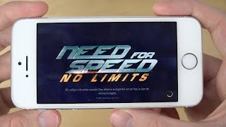 Need For Speed No Limits iPhone 5S 4K Gameplay Review