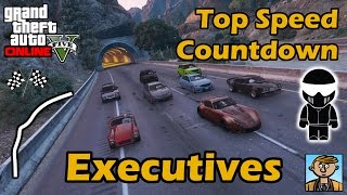 Fastest Executives DLC Vehicles - Top Speeds Of Fully Upgraded Cars In GTA Online