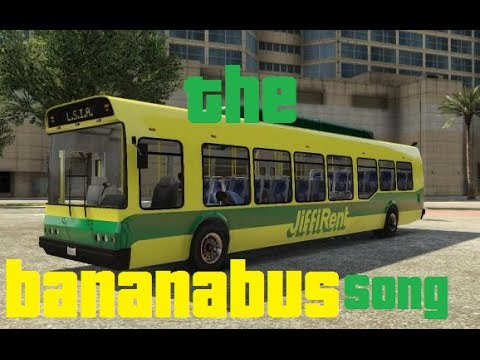 ORIGINAL - THE BANANA BUS SONG (ft I AM WILDCAT ... H20 Delirious