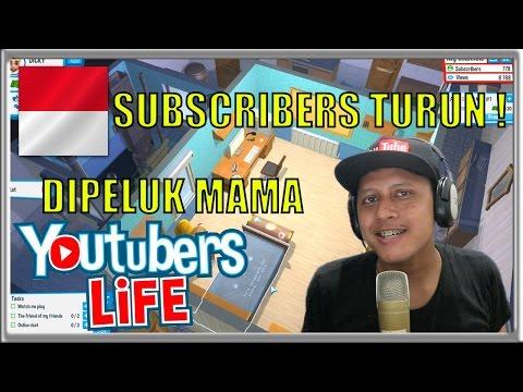 SUBSCRIBERS TURUN :( - Youtubers Life Indonesia #2
