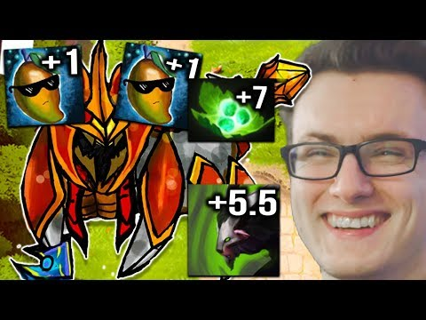 Miracle- Nyx Offlane 20HP/s Regen Level 2 Dota 2 7.07