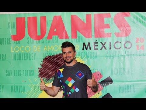 Juanes-gira Loco De Amor Por México En Concierto 2014