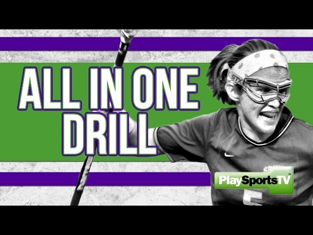 Girls' Lacrosse: All in One Drill