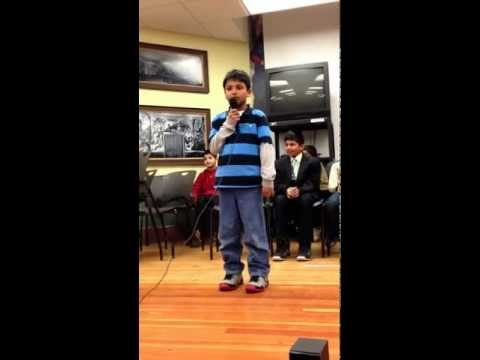 Rubin Reciting Hindi Poem video