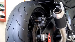 Yamaha Fz8 2012 JET SOUND Exhaust  Akrapovic Custom