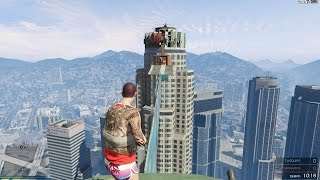 PARKOUR MAXIMUM DANGER IN GTA V!