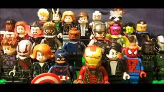 Marvel Cinematic Universe in Lego