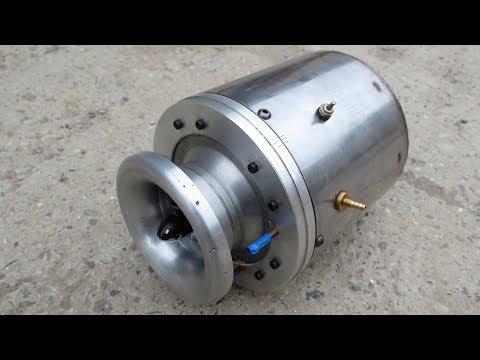 Самодельный ТРД - 70000 RPM