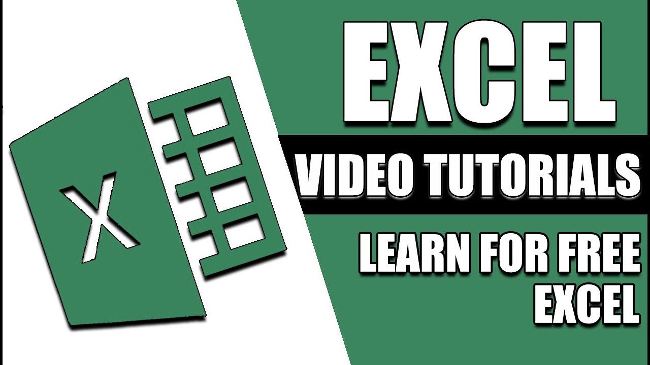 excel 2010 tutorial for intermediates