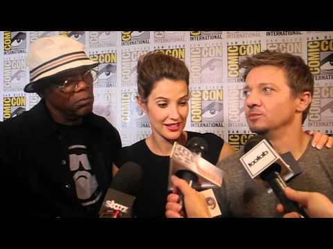 Samuel L. Jackson, Cobie Smulders, Jeremy Renner Interview: 'Nick Fury's Running a Taco Stand'