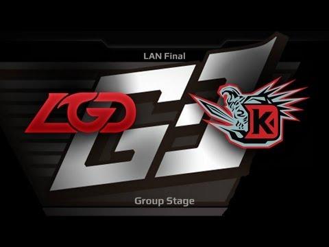 G-1 League LAN Final - Groupstage - LGD.cn vs DK