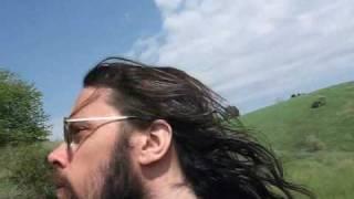long luxurious hippie hair
