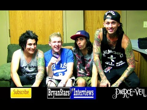 Pierce The Veil Interview #3 Featuring Kellin Quinn Warped Tour 2012