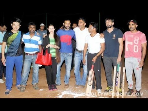 Fun Cricket Match│Sunil Shetty Kailash Kher Shaan Jay Bhanushali...