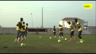 CAN 2015 | Botswana - 1ère Séance d'entraînement des Lions