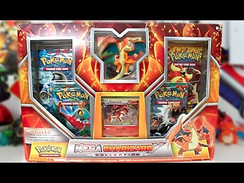 Opening A Mega Charizard Y Collection Box!!