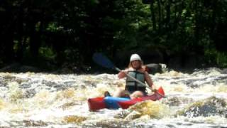 Whitewater Rafting at Summer Camp Anokijig- Plymouth, Wisconsin