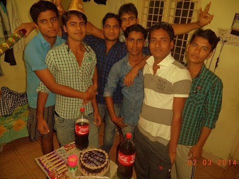 Abhinav birthday celebration and dance on bhojpuri hindi latest songs....