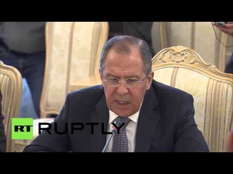 Russia: Lavrov and de Mistura talk getting Syria ceasefire 'back on track'