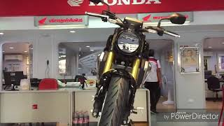First ride Honda CB150R  ExMotion 2017 expect to launch in Indian expo