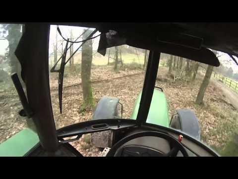 Johndeere Rückezange Fichtenlangholz rücken