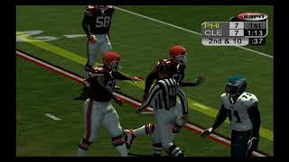 ESPN NFL 2K20 UNDEFEATED BROWNS? Browns (6-0) vs Eagles