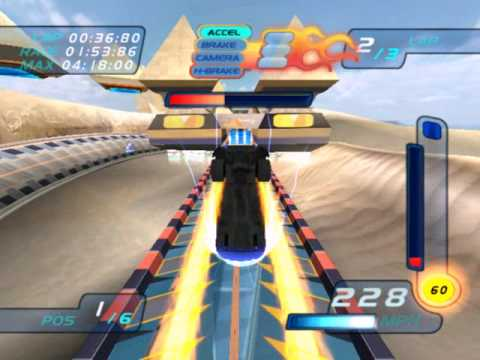 Hot Wheels World Race Level 9 of 15 Egyptian Dunes