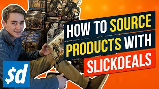 How to Source Products for Amazon FBA or eBay Online | Online Arbitrage with Slickdeals