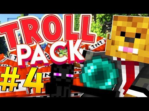Minecraft TROLL PACK - TELEPORTING FLOOR PRANK! #4