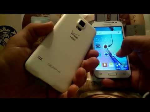 Samsung galaxy s5 vs samsung galaxy core prime.