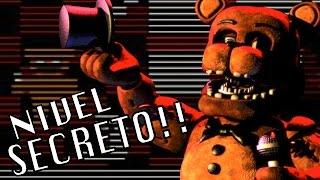 NIVEL SECRETO??   Five Nights At Freddy's 2: Noche 2 - JuegaGerman