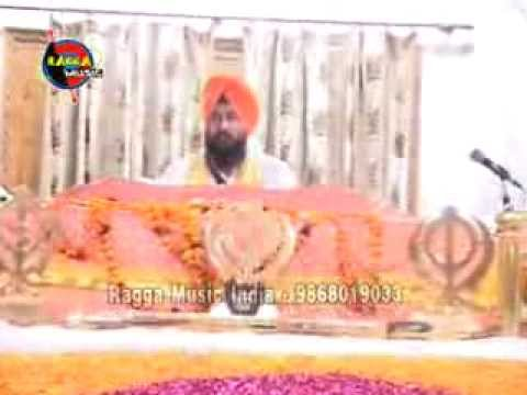 Bhai Surinder Singh Ji - Paap Kamavdeya Tera Koi Na Belli Ram From Ragga Music - 9868019033 video
