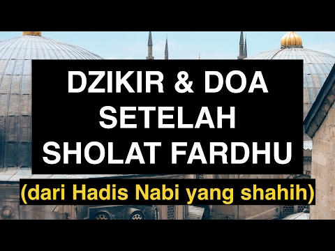 Youtube doa doa sholat