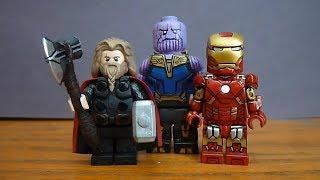Custom Lego Avengers Endgame and Infinity War Minifigures