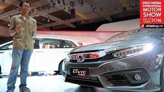 FI Review Honda Civic Turbo Indonesia from IIMS 2016