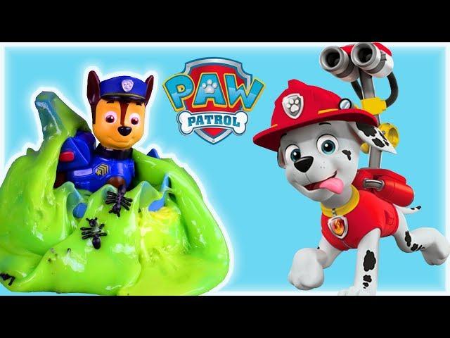 Psi Patrol & Horror Slime • Akcja Ratunkowa w Glucie!!! • bajki dla dzieci