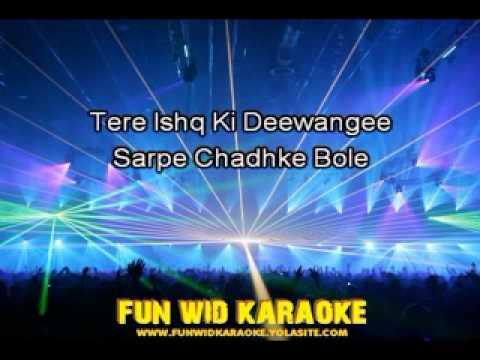 Dil Ding Dong Ding Dole Karaoke - Fun Wid Karaoke