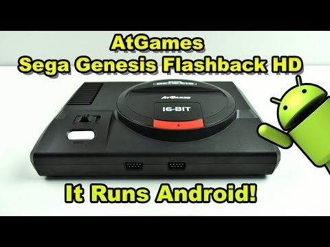 Sega Genesis Flashback HD Teardown And Review It Runs Android!