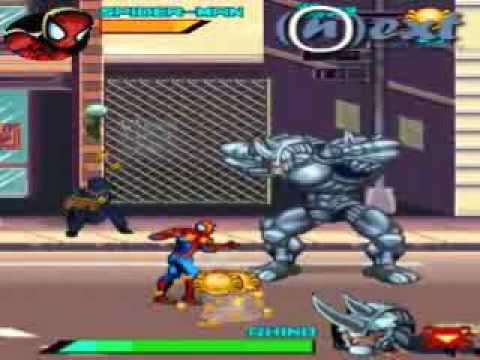 Spider Man: Toxic City Gameloft-NeXt 240x320