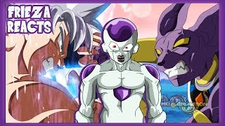 FRIEZA REACTS TO GOKU MASTERED ULTRA INSTINCT VS BEERUS - FAN ANIMATION - DRAGON BALL SUPER!