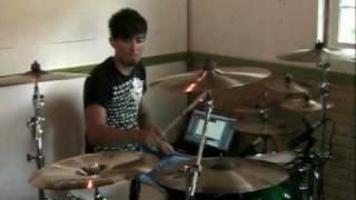 Breath - Breaking Benjamin - drum cover - K Funk