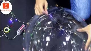 Hướng dẫn sử dụng bóng bay led galaxy tuyệt đẹp   How to use balloon galaxy