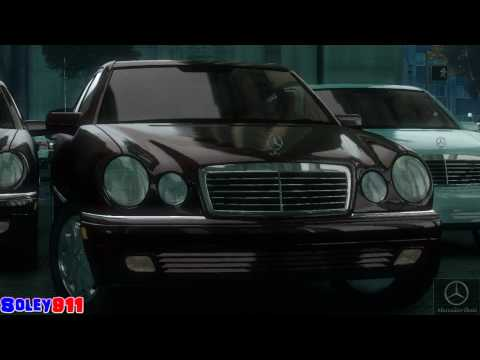 GTA 4 Mercedes-Benz E280 (W210) !!  ENB series Extreme Graphics  [ Car mods + RealizmIV + VisualIV ]
