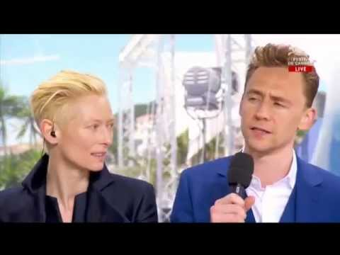 Only Lovers Left Alive (2013) Cannes Interview - Tom Hiddleston & Tilda Swinton