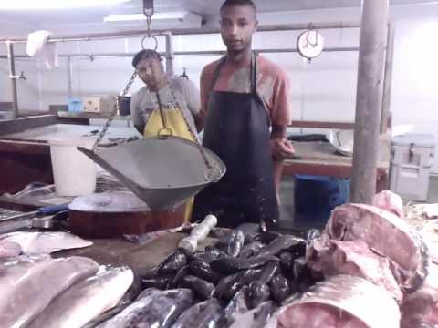 Chaguanas Fish market.