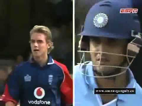 Don't Ever Mess With Ganguly - Broad Learns a Lesson 2007
