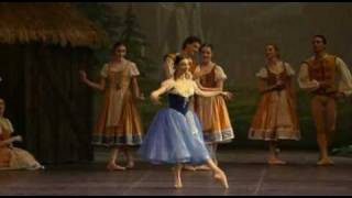 Alessandra Ferri. Giselle. Paris Opera Ballet (Act1)